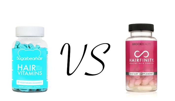 Sugar Bear Hair VS. Hairfinity | Brittwd
