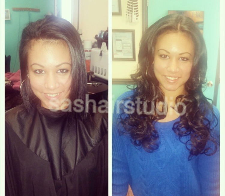 My Favorite Weave For Caucasian Hair A Braidless Sew In Using Micro
